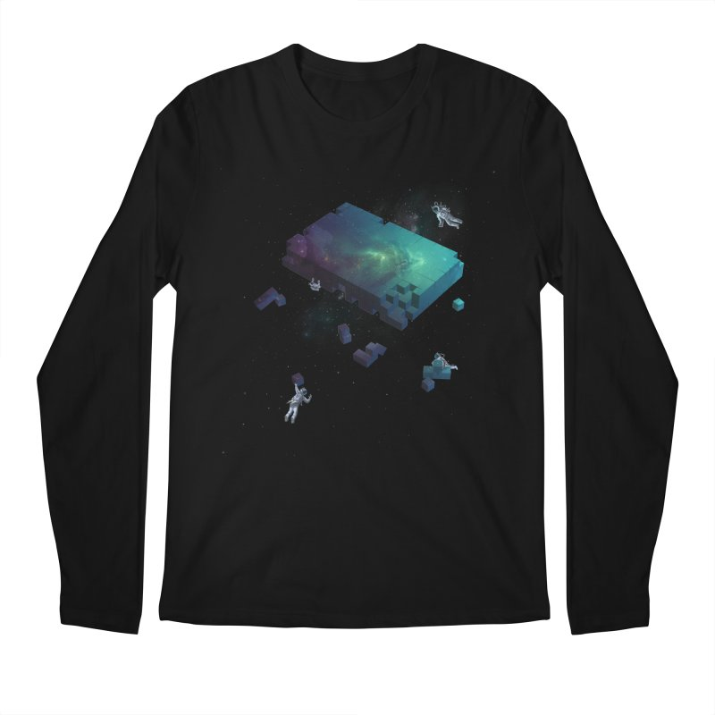Constructing the Cosmos Men's Longsleeve T-Shirt by tristan's Artist Shop