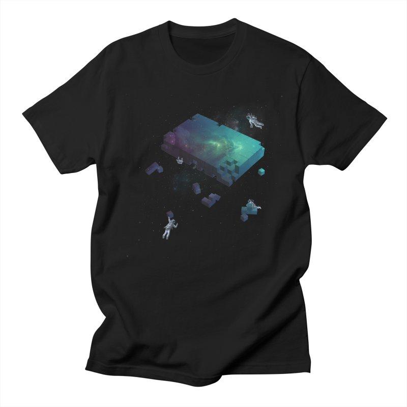 Constructing the Cosmos Men's T-shirt by tristan's Artist Shop