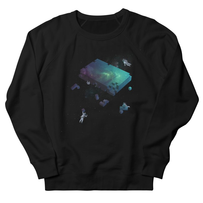 Constructing the Cosmos Men's Sweatshirt by tristan's Artist Shop
