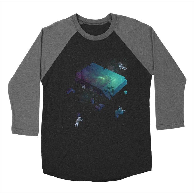 Constructing the Cosmos Women's Baseball Triblend T-Shirt by tristan's Artist Shop