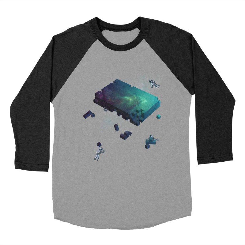 Constructing the Cosmos Men's Baseball Triblend T-Shirt by tristan's Artist Shop