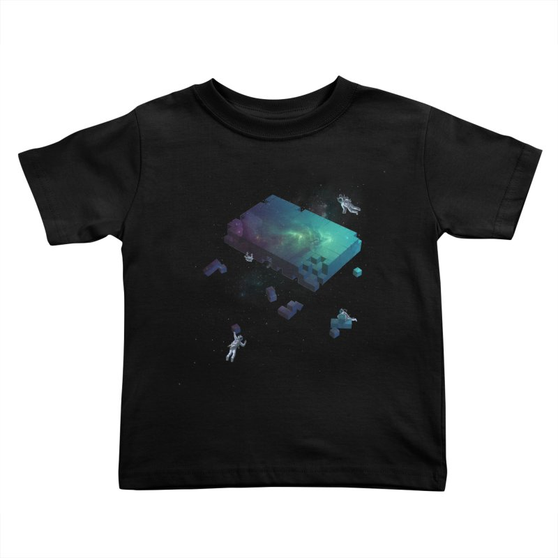 Constructing the Cosmos Kids Toddler T-Shirt by tristan's Artist Shop