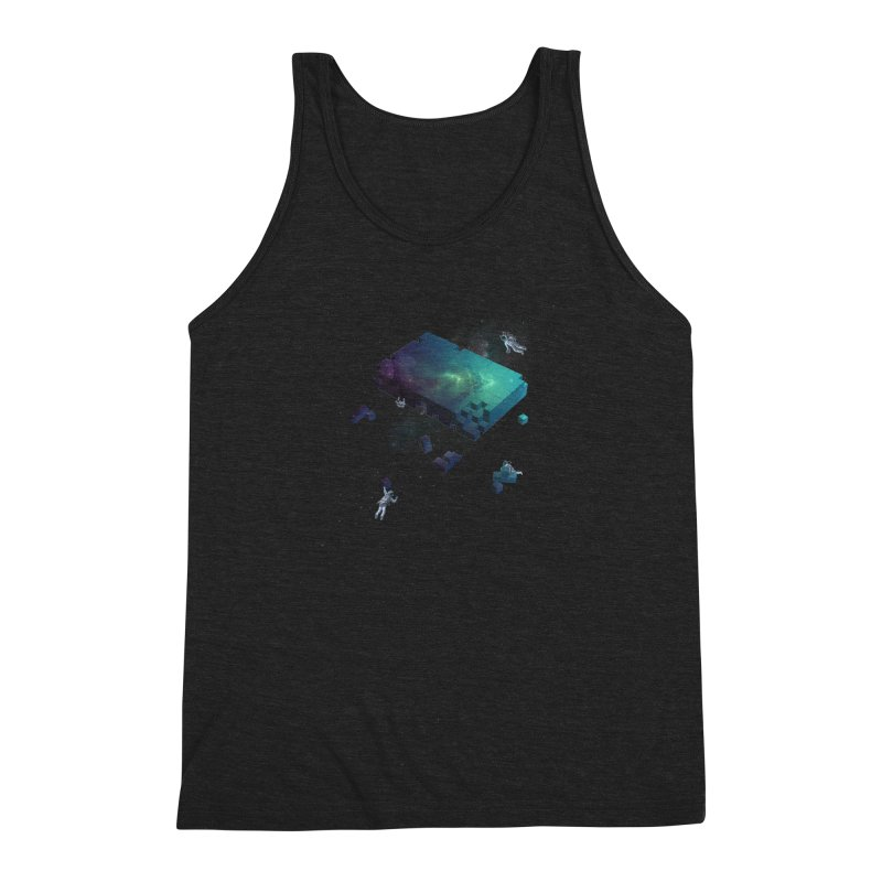 Constructing the Cosmos Men's Triblend Tank by tristan's Artist Shop