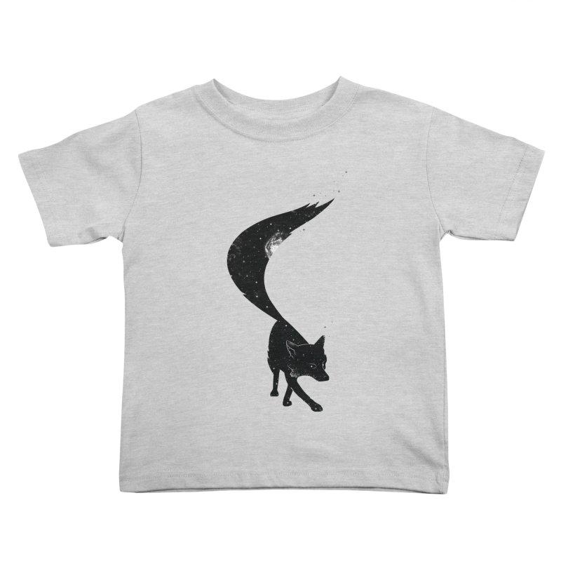 Foxstellation Kids Toddler T-Shirt by tristan's Artist Shop