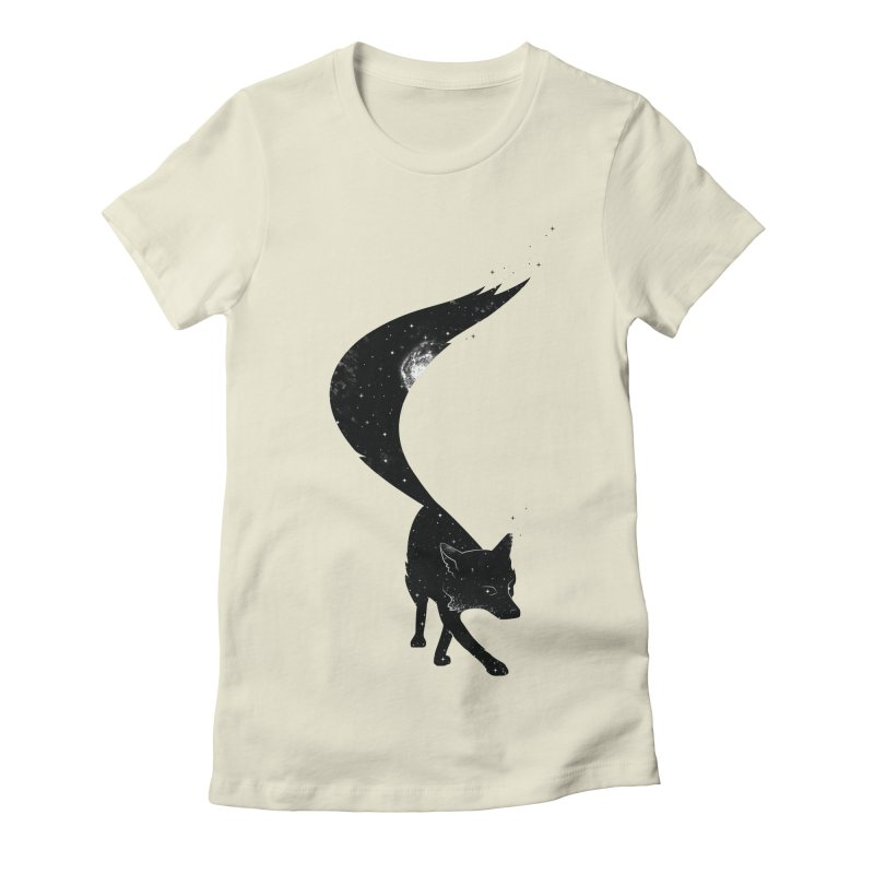 Foxstellation Women's Fitted T-Shirt by tristan's Artist Shop
