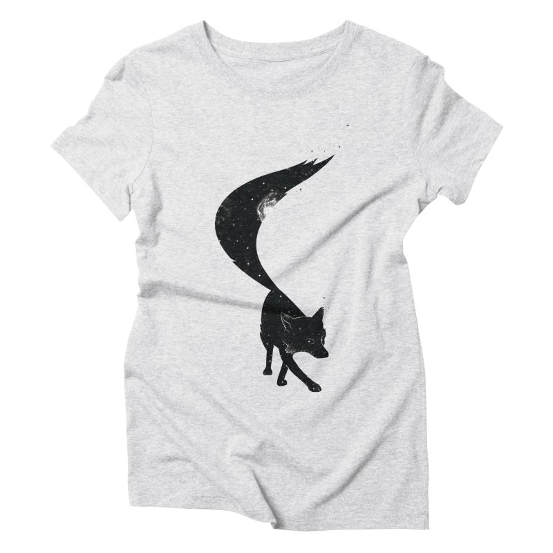 Foxstellation Women's Triblend T-shirt by tristan's Artist Shop