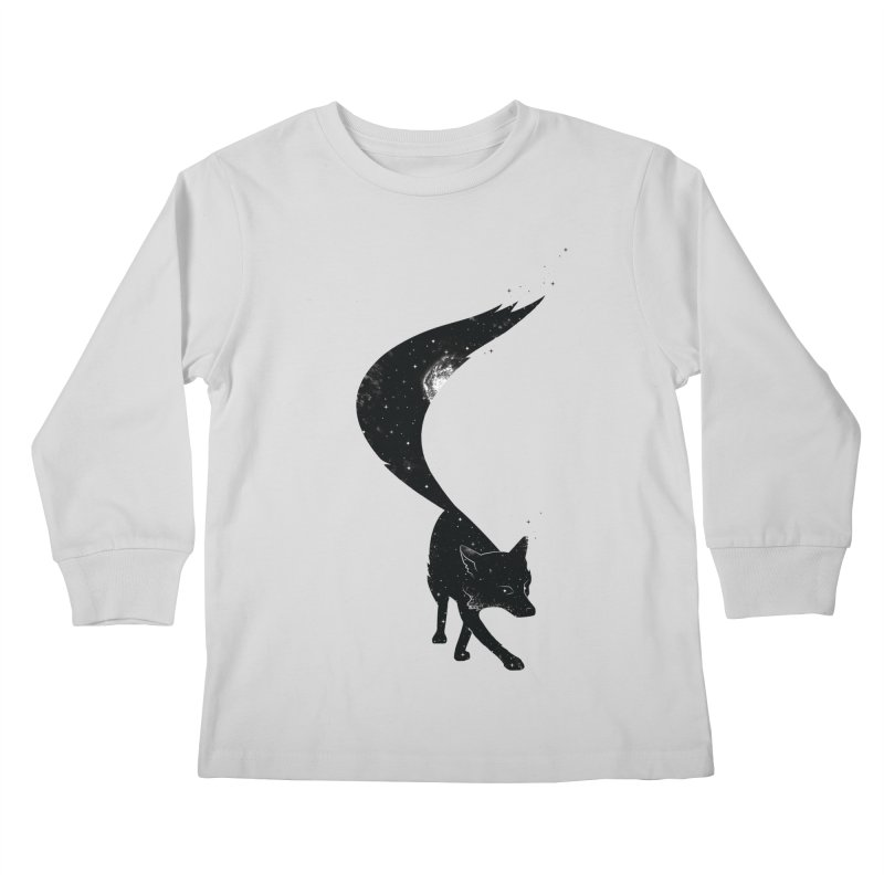 Foxstellation Kids Longsleeve T-Shirt by tristan's Artist Shop