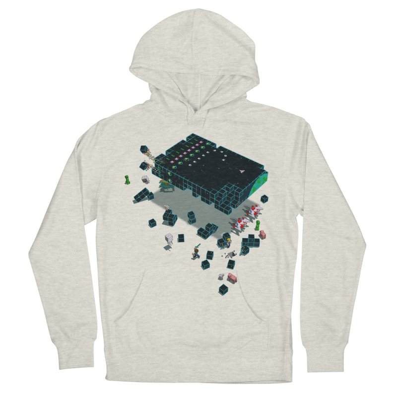 Galaga Craft Women's Pullover Hoody by Deep Space Designs