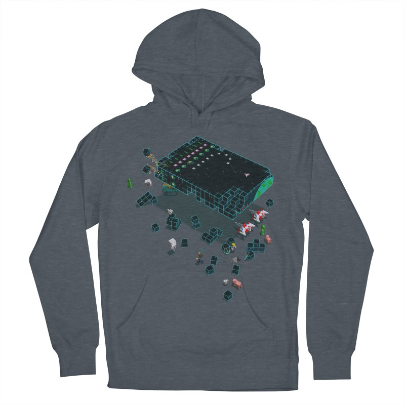 Galaga Craft Men's Pullover Hoody by tristan's Artist Shop