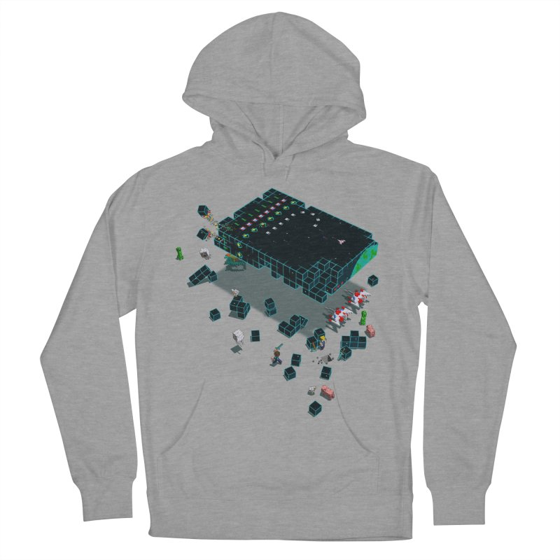 Galaga Craft Men's Pullover Hoody by Deep Space Designs