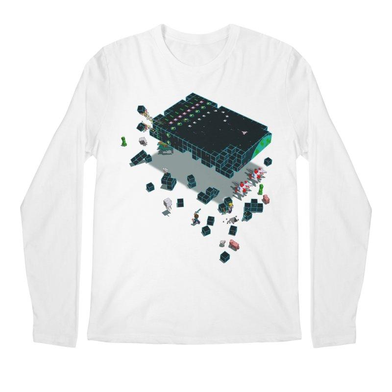 Galaga Craft Men's Longsleeve T-Shirt by tristan's Artist Shop