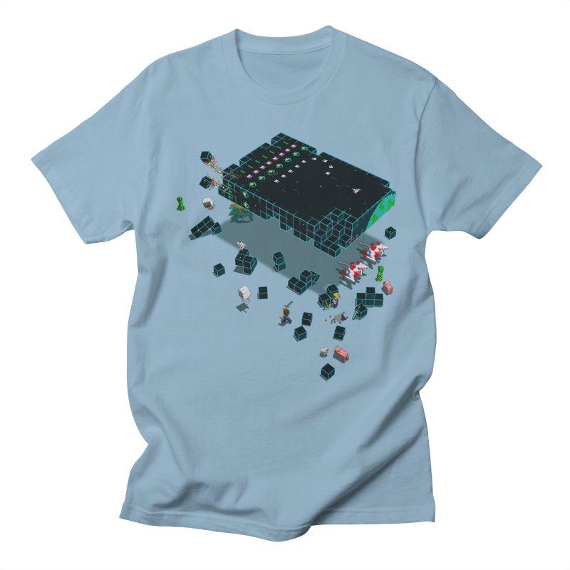 Galaga Craft Men's T-Shirt by tristan's Artist Shop