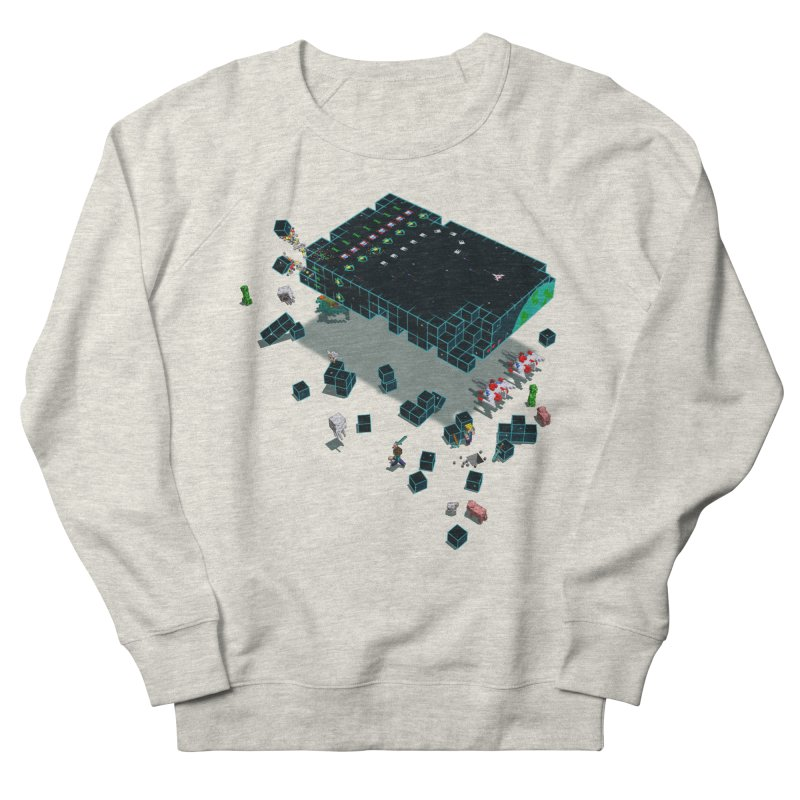 Galaga Craft Men's Sweatshirt by tristan's Artist Shop