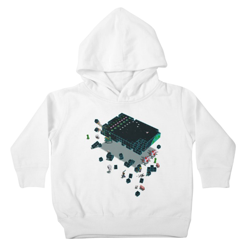Galaga Craft Kids Toddler Pullover Hoody by tristan's Artist Shop