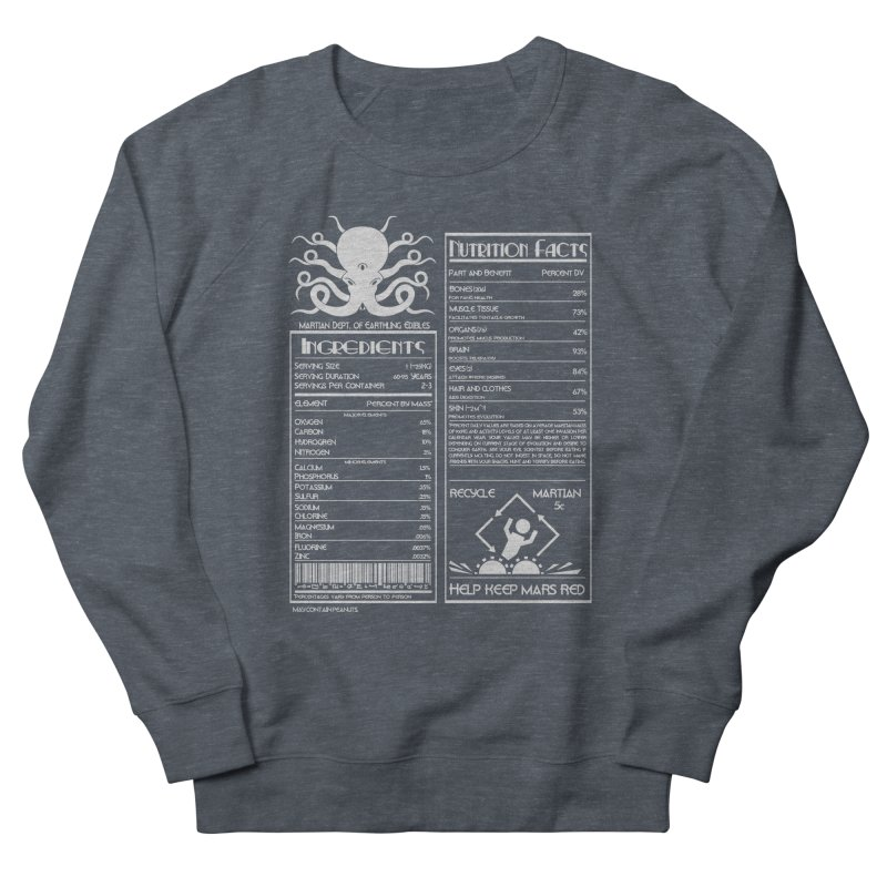 Human Ingredients Men's Sweatshirt by tristan's Artist Shop
