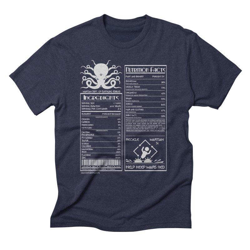 Human Ingredients Men's Triblend T-shirt by tristan's Artist Shop