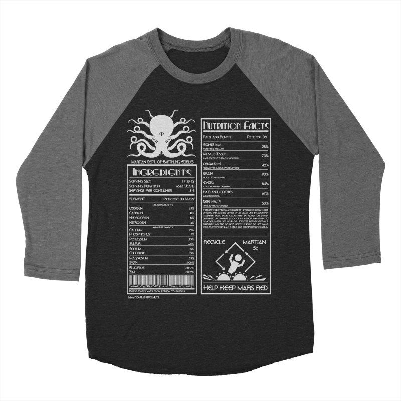 Human Ingredients Women's Baseball Triblend T-Shirt by tristan's Artist Shop