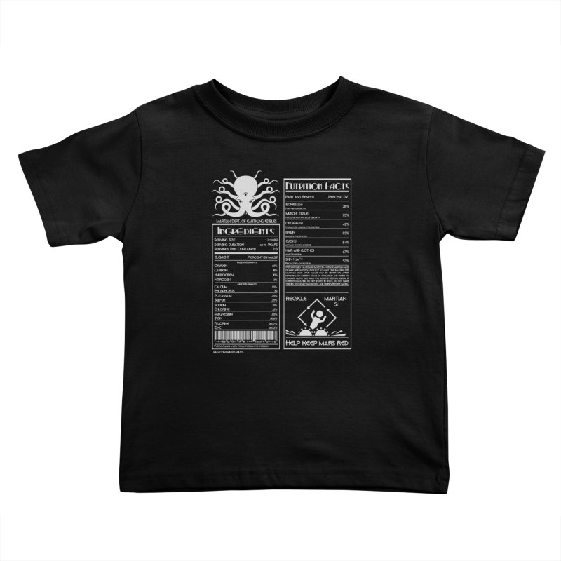Human Ingredients Kids Toddler T-Shirt by tristan's Artist Shop