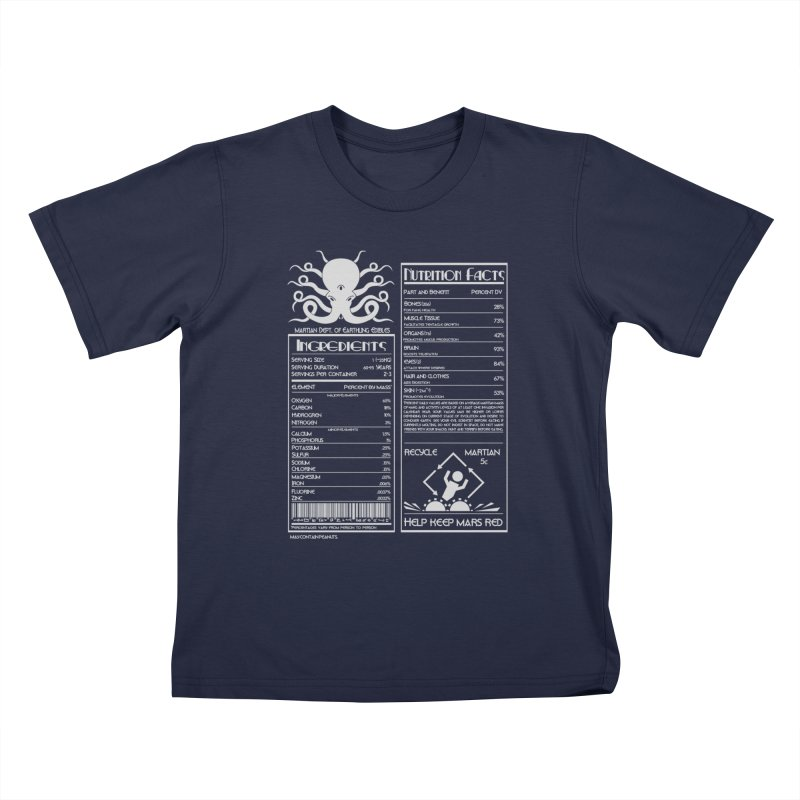 Human Ingredients Kids T-Shirt by tristan's Artist Shop