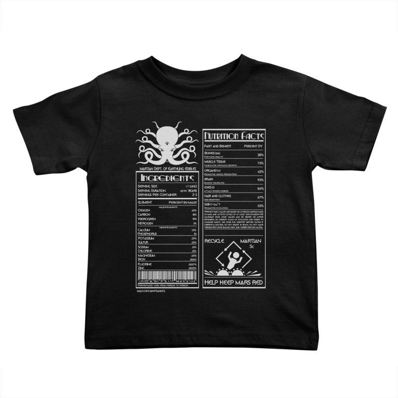 Human Ingredients Kids Toddler T-Shirt by tristan's Artist Shop