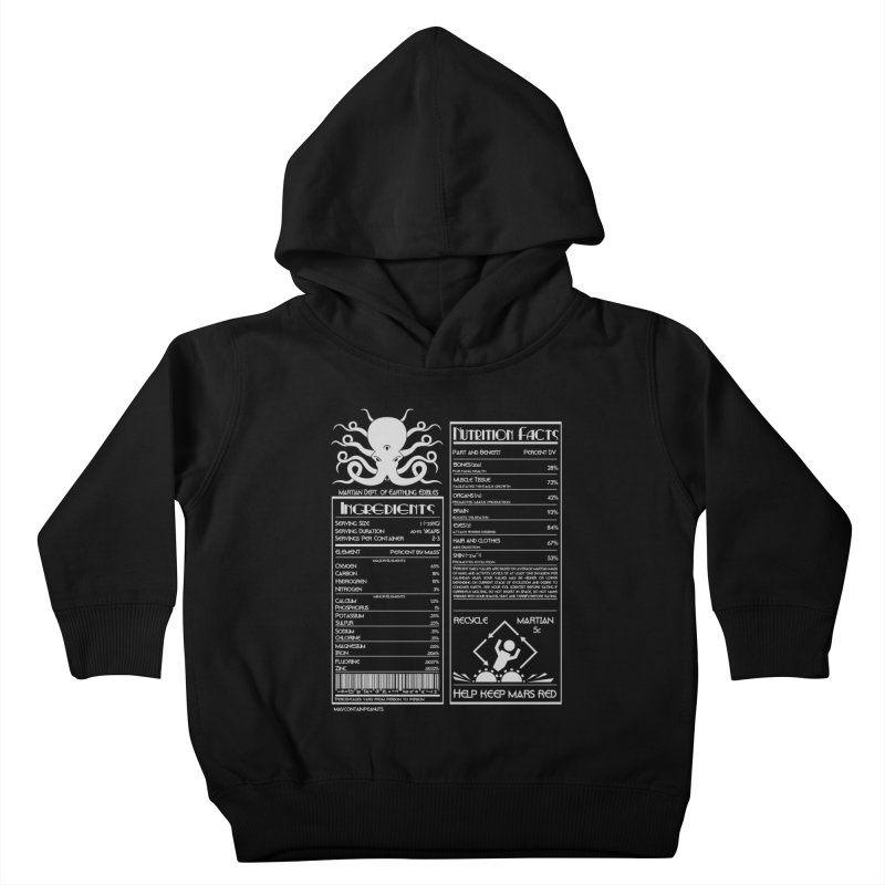 Human Ingredients Kids Toddler Pullover Hoody by tristan's Artist Shop