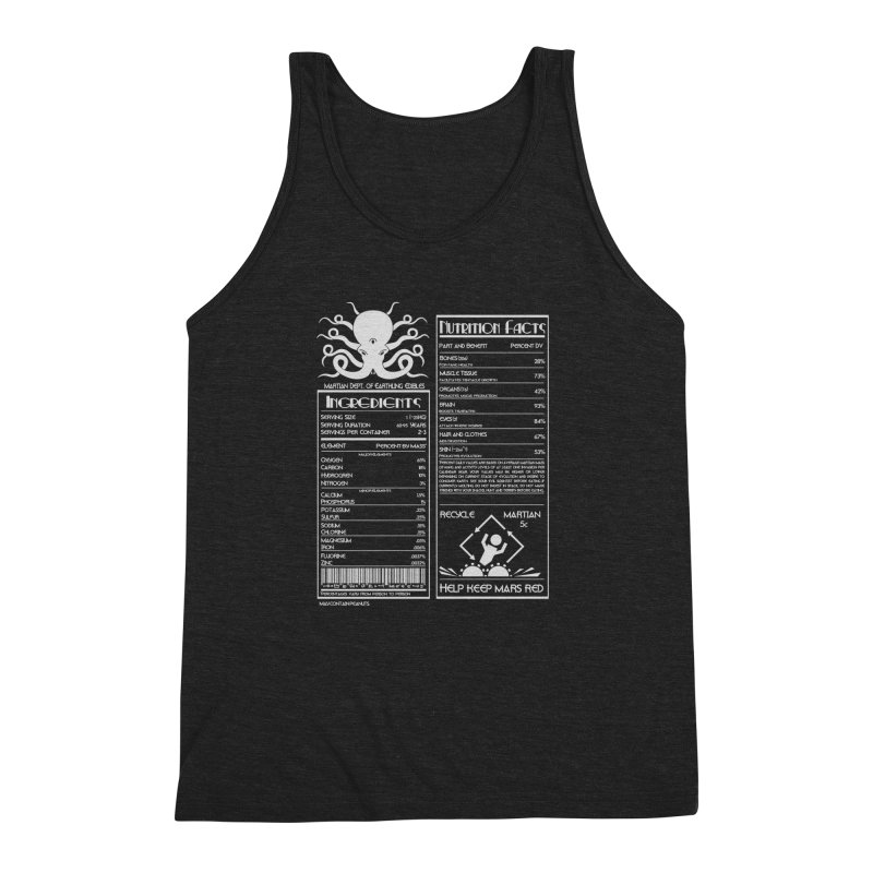 Human Ingredients Men's Triblend Tank by tristan's Artist Shop