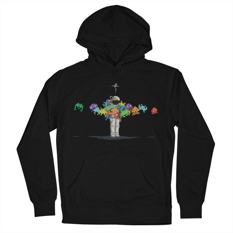 Personal Space Invaders Women's Pullover Hoody by tristan's Artist Shop