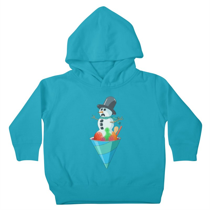 Worst Summer Job Ever Kids Toddler Pullover Hoody by tristan's Artist Shop