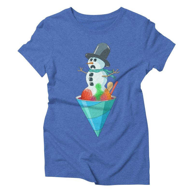 Worst Summer Job Ever Women's Triblend T-shirt by tristan's Artist Shop