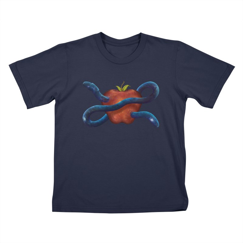 Wormhole Kids T-shirt by tristan's Artist Shop