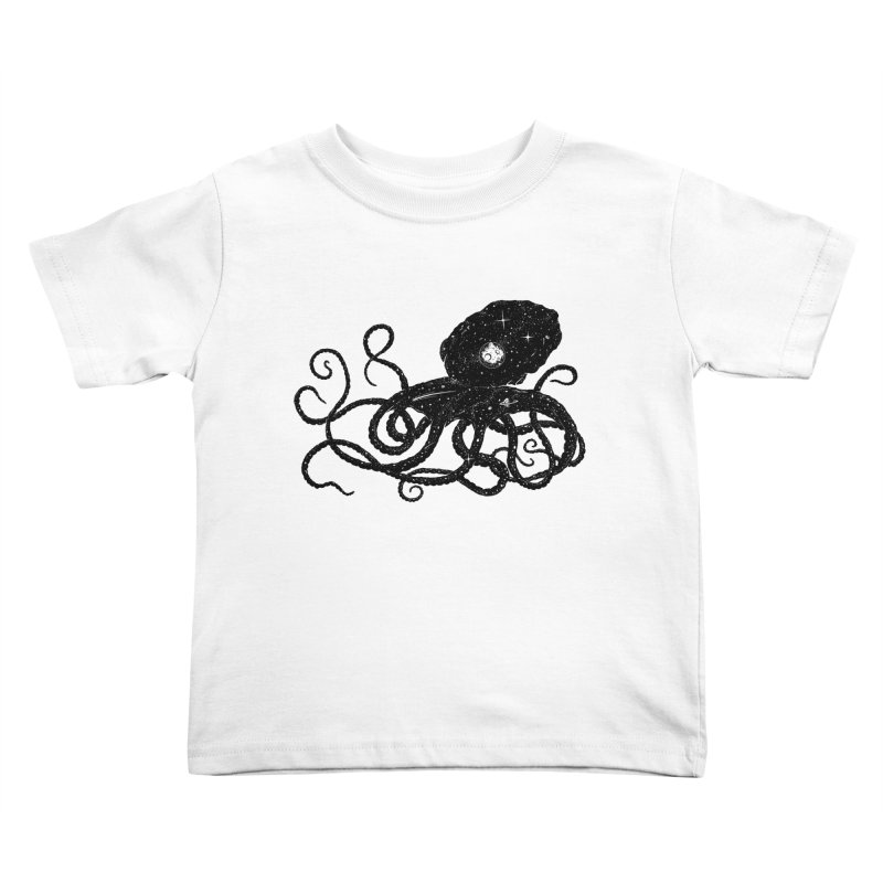 Galactapus Kids Toddler T-Shirt by Deep Space Designs