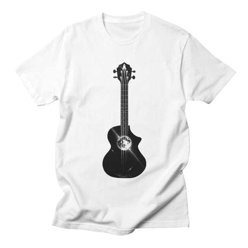 Melody Moon Men's T-Shirt by Deep Space Designs