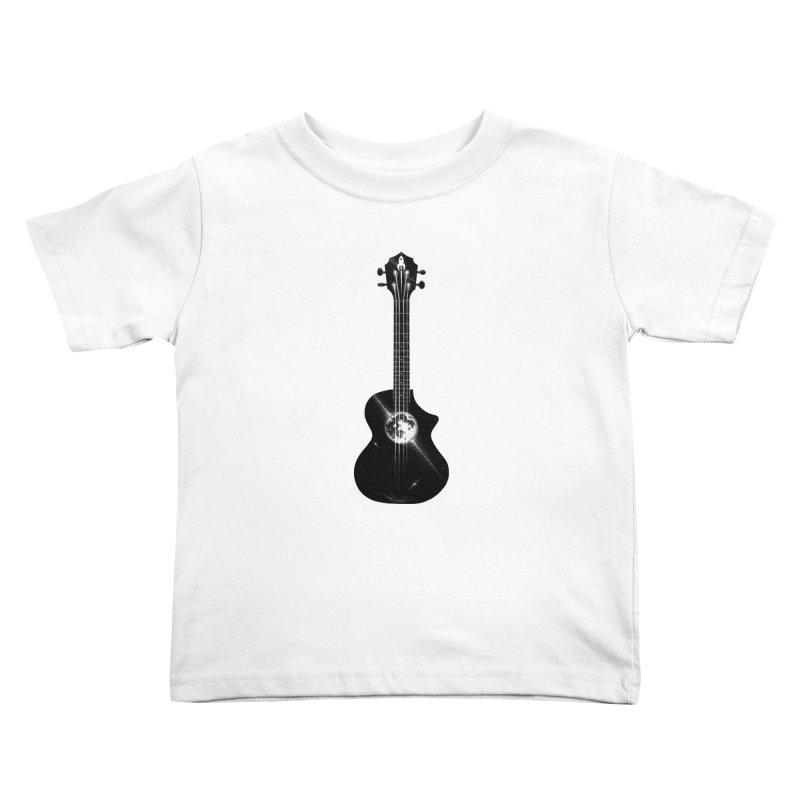 Melody Moon Kids Toddler T-Shirt by Deep Space Designs