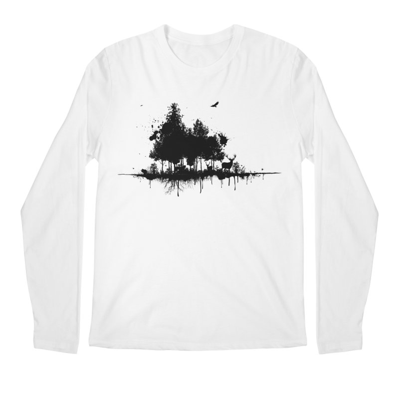 Natural Ink Men's Longsleeve T-Shirt by Deep Space Designs