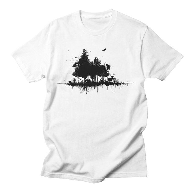 Natural Ink Men's T-Shirt by Deep Space Designs