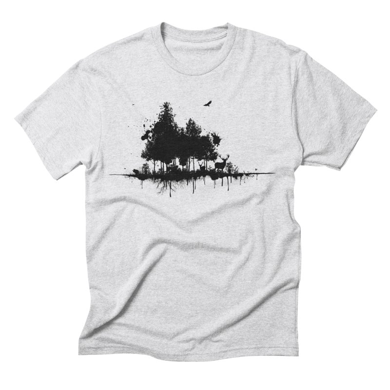 Natural Ink Men's Triblend T-Shirt by Deep Space Designs