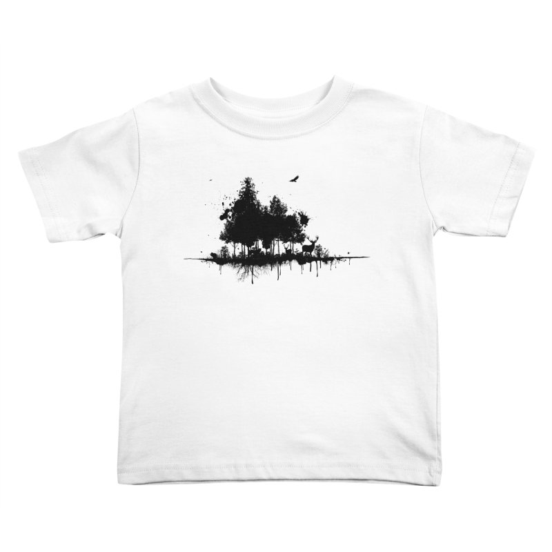 Natural Ink Kids Toddler T-Shirt by Deep Space Designs