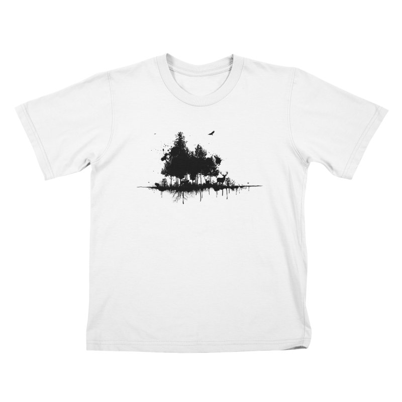 Natural Ink Kids T-Shirt by Deep Space Designs