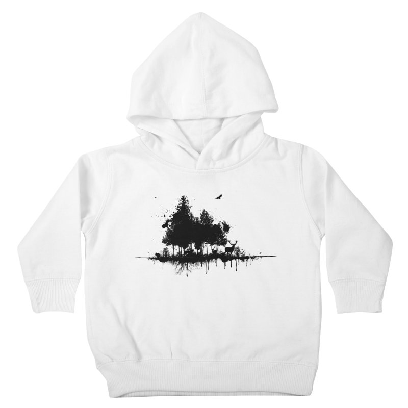 Natural Ink Kids Toddler Pullover Hoody by Deep Space Designs