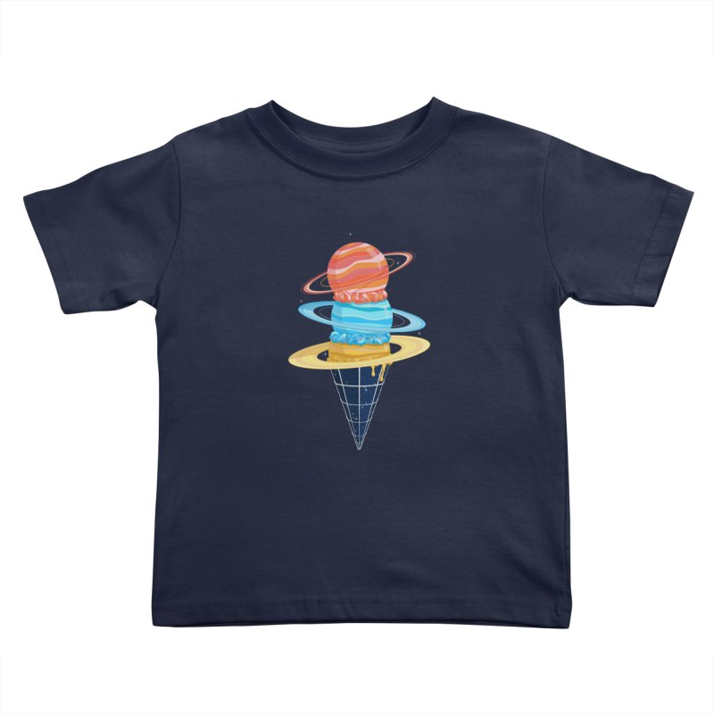Space-Time Cone-Tinuum Kids Toddler T-Shirt by Deep Space Designs