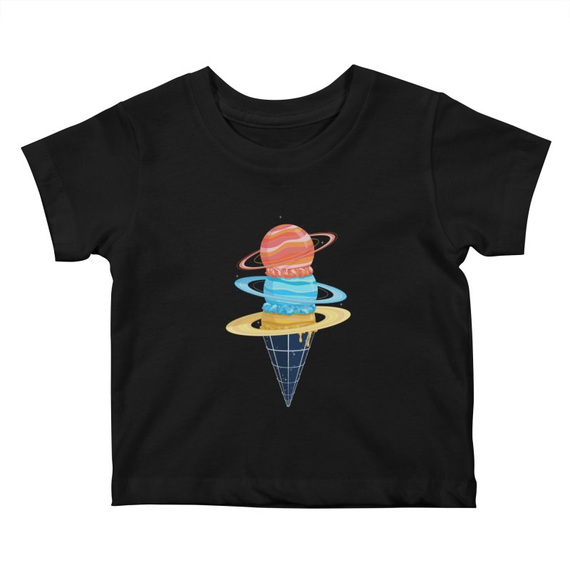 Space-Time Cone-Tinuum Kids Baby T-Shirt by Deep Space Designs