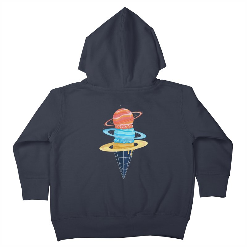 Space-Time Cone-Tinuum Kids Toddler Zip-Up Hoody by Deep Space Designs