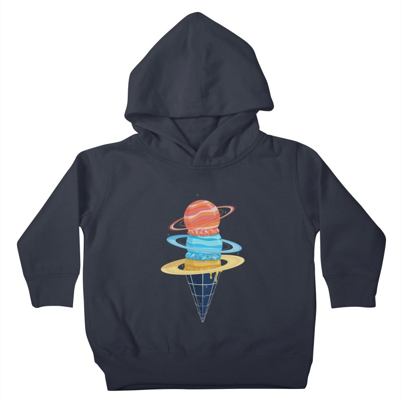 Space-Time Cone-Tinuum Kids Toddler Pullover Hoody by Deep Space Designs