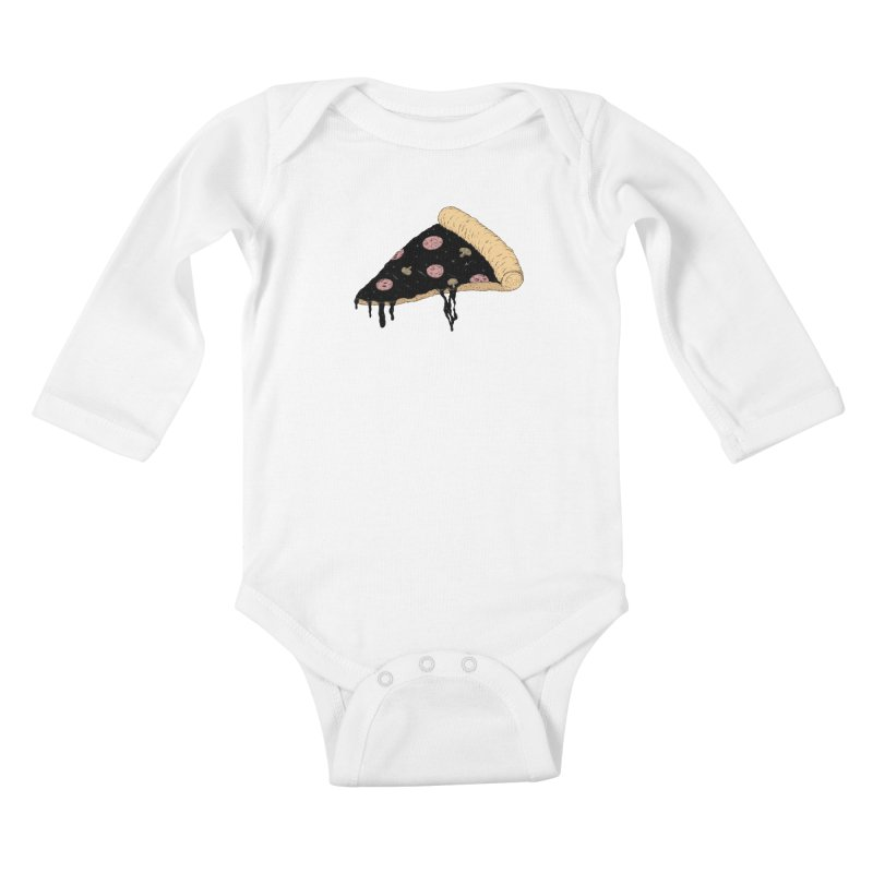 Celestial Slice Kids Baby Longsleeve Bodysuit by Deep Space Designs