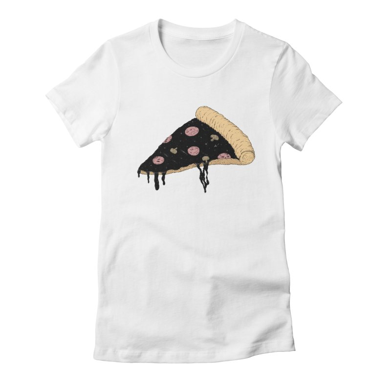 Celestial Slice Women's Fitted T-Shirt by Deep Space Designs