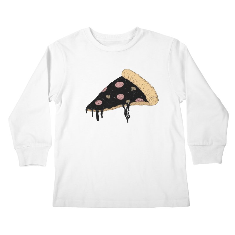 Celestial Slice Kids Longsleeve T-Shirt by Deep Space Designs