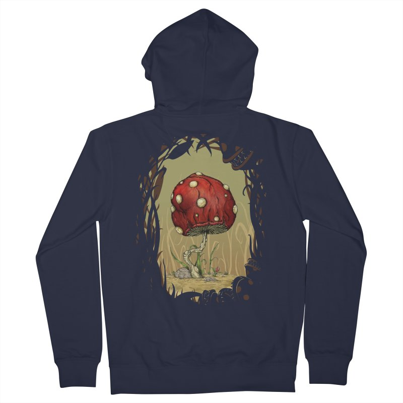 Grow Mario - Border Men's Zip-Up Hoody by tristan's Artist Shop