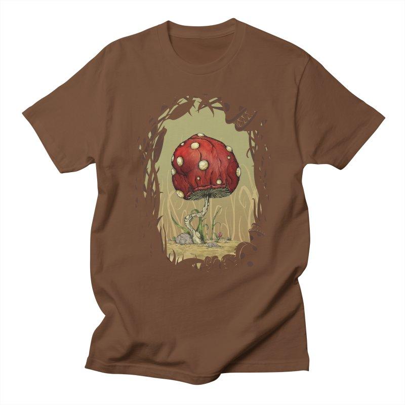 Grow Mario - Border Men's T-shirt by tristan's Artist Shop
