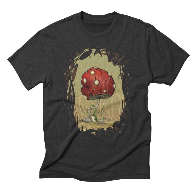 Grow Mario - Border Men's Triblend T-Shirt by tristan's Artist Shop