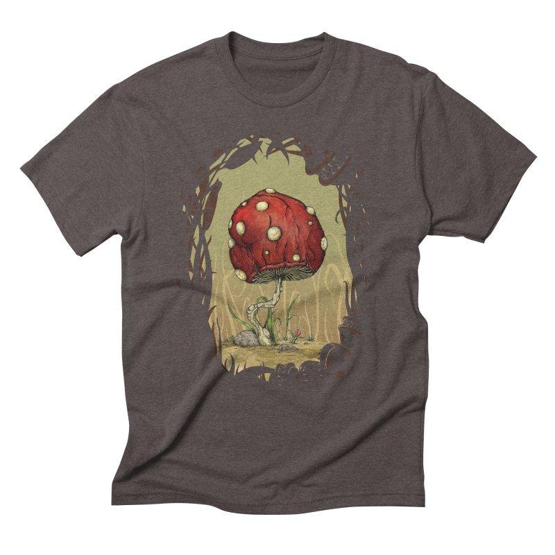 Grow Mario - Border Men's Triblend T-shirt by tristan's Artist Shop